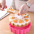 Kreative Kuchen Pan Sushi Form Gesetzt Herzförmigen Sushi Mold Backen Jelly Pudding Tasse Reis Ball Küche Sushi Anzug Form