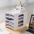 5 schichten Multifunktions Dokument Trays Datei Papepr Brief Halter Schreibwaren Lagerung Wasserdichte Schreibtisch Veranstalter Büro Zubehör
