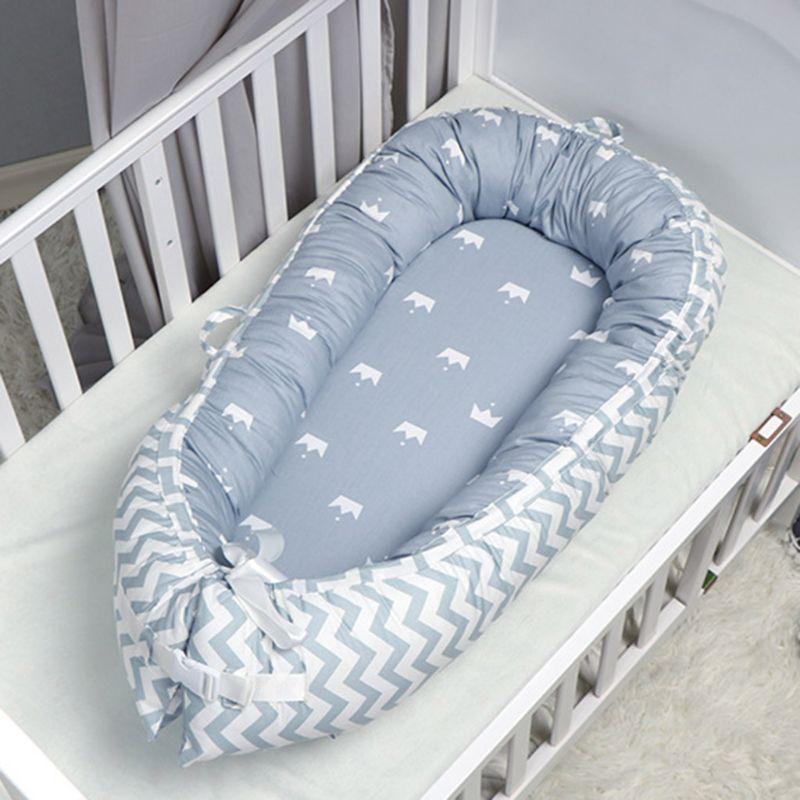 ar livre cama biônica infantil berço macio algodão dormir babynest