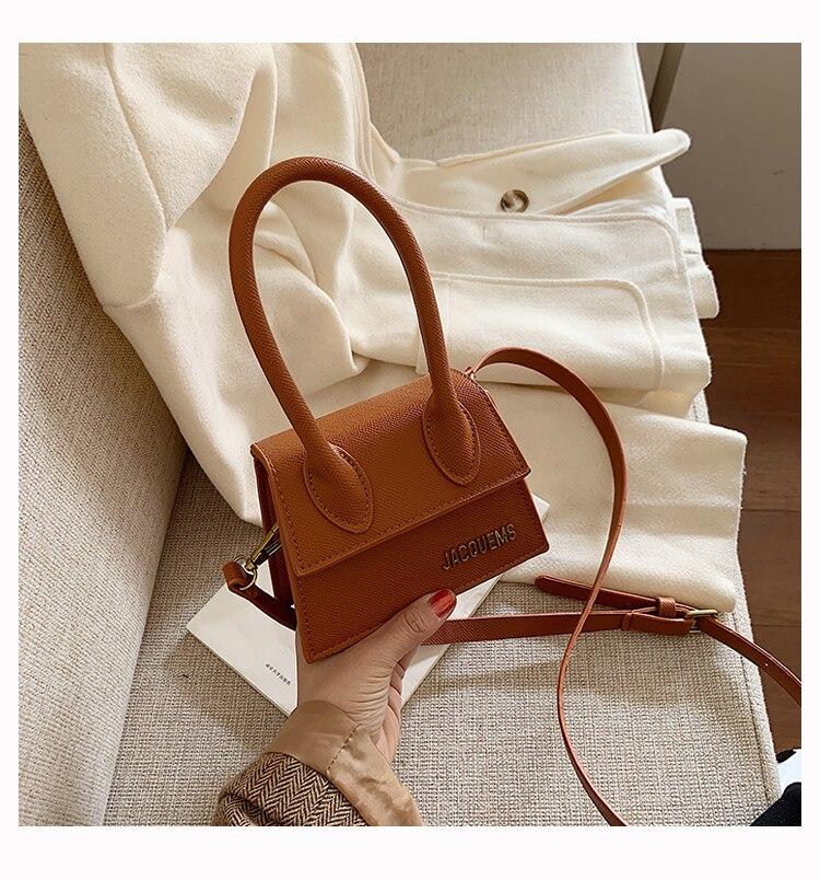 Women Mini Tote Bag 2019 New Crocodile Pattern Flip Messenger Crossbody Bag Female Simple Shoulder Bag Small Square Lady Handbag