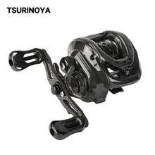 TSURINOYA DARK WOLF 50 Baitcasting Reel 10+1 Ball Bearings 4