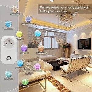 Image 4 - ACCKIP Prise Connectée WiFi 16A Mini Smart Plug Fonctionne via Android iOS Alexa Google Home Plug Adaptor with Energy Monitor