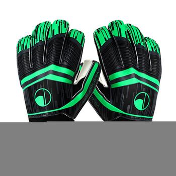 Dzieci mężczyźni profesjonalne piłkarskie rękawice bramkarskie silne 5 Finger Save Protection zagęścić lateksowe bramkarz Goal Keeper rękawice rozmiary 8-10 tanie i dobre opinie CN (pochodzenie) Other