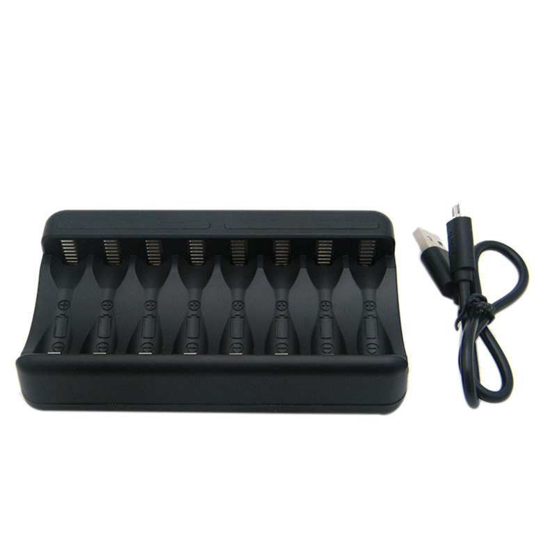 Eight-Slot Battery Charger Can Charge 5th 7th Toy Low-Voltage Fast