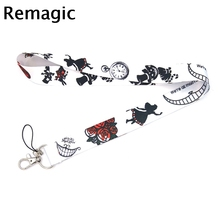 Cartoon classic character Neck Strap Lanyard keychain Mobile Phone ID Badge Holder Rope Key Chain Keyrings cosplay Accessories cute cartoon character note pad with keychain and strap color assorted