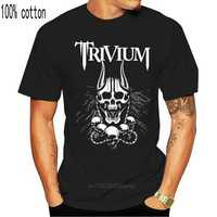 Trivium - Silence In The Snow - Heavy Metal - Disturbed  T _ Shirt - Sizes  S To 7xl Men Summer Short Sleeves Casual