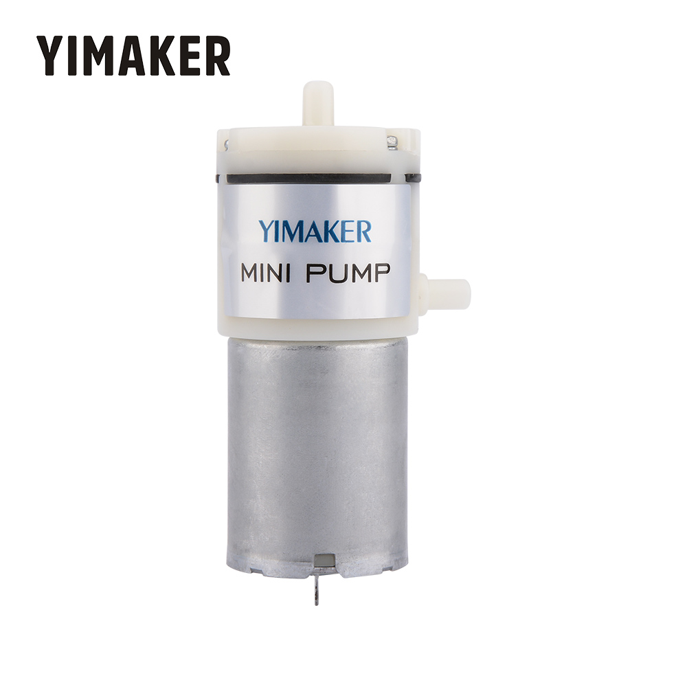YIMAKER DC 12V Micro Vacuum Pump Electric Pumps Mini Air Pump Pumping Booster For Medical Treatment Instrument