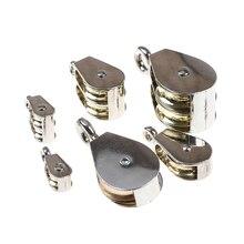 Колеса поворотные ролики блок загрузки 36/52/75 мм 1 шт. цинковый сплав один двойной