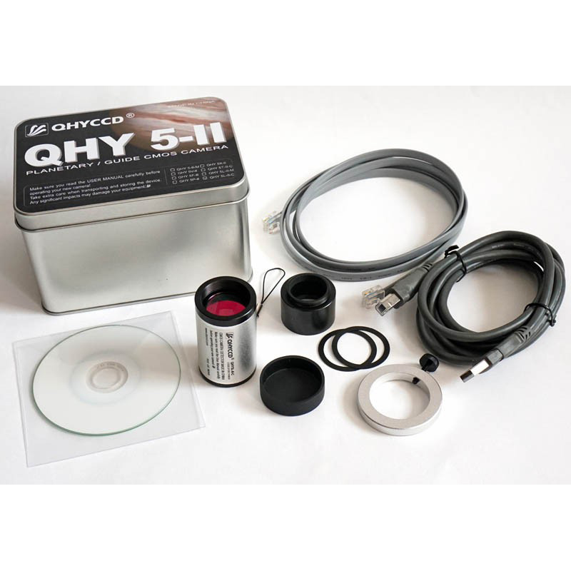 QHYCCD QHY 5-II Planetary Guiding CMOS Camera Professional USB2.0 Standard 6-pin RJ11 Telescope Interface