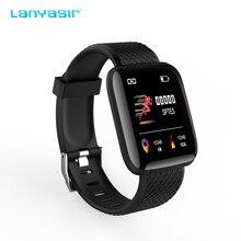 Lanyasir 116 Smart Band reloj inteligente pulsometro ritmo Fitness Tracker Bracelet Waterproof Wristband watch