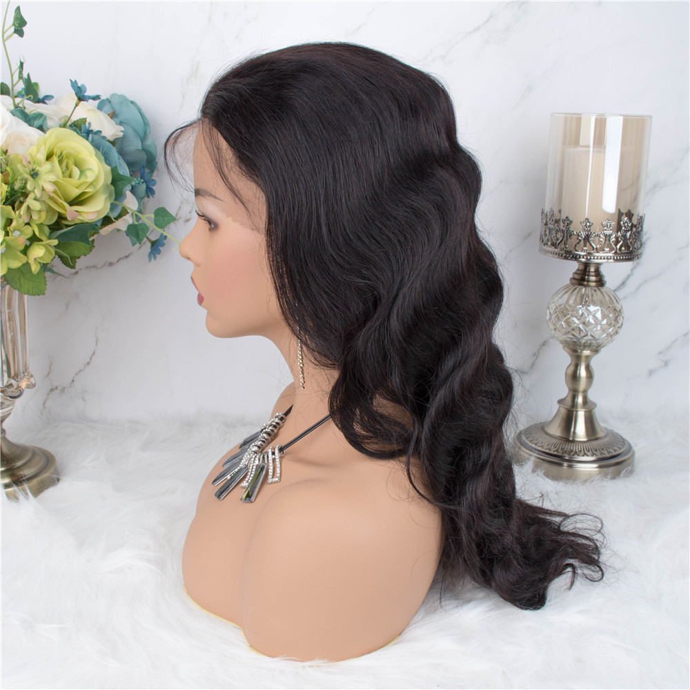 H0eb42aa30d9a4975b06ad5b8aace63c9J Body Wave Lace Frontal Wig Human Hair Wigs 13×4 Lace Frontal Human Hair Wigs For Black Women Pre Plucked Non Remy Hair