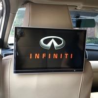 Travesseiro de carro 12.5 Polegada  monitor de descanso de cabeça  tela de dvd para infiniti qx80  suporte wi-fi bluetooth hdmi  entretenimento de assento traseiro