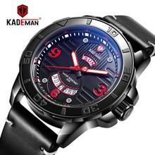 KADEMAN 2019 New Sport Watch Fashion Business Men TOP Brand Luxury Waterproof Wristwatches Military Army Relogio Masculino