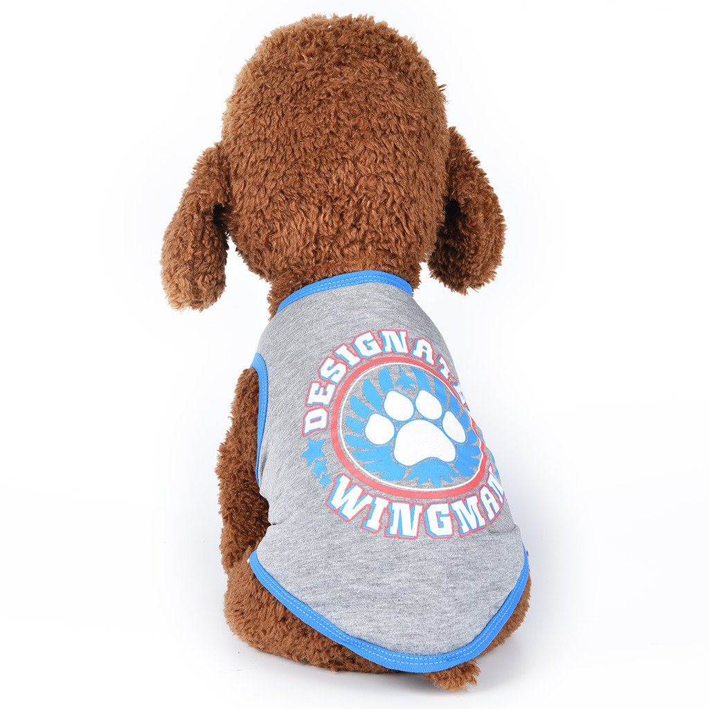 Fashion Claw Pattern Pet Vest Summer Breathable Comfortable Dog Cat Pets Clothing Small Medium Dog Shirts Puppy Autumn Vest thumbnail