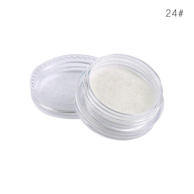 2019 Shiny Eye Shadow 24color Multicolor Matte Makeup Loose Powder Flexible Long-lasting Glitter Eye Shadow Pearl Powder TSLM2 5