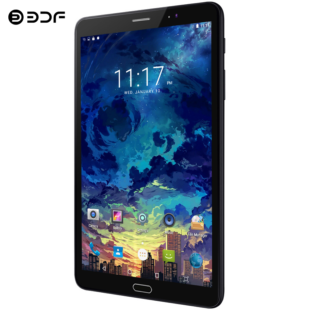 8 Inch Android 7.0 Tablet Pc 3G/4G LTE SIM Card Phone Call 2.5D Screen 4GB/64GB Octa Core Ultra HD Camera 1920*1200 IPS Tablet 8