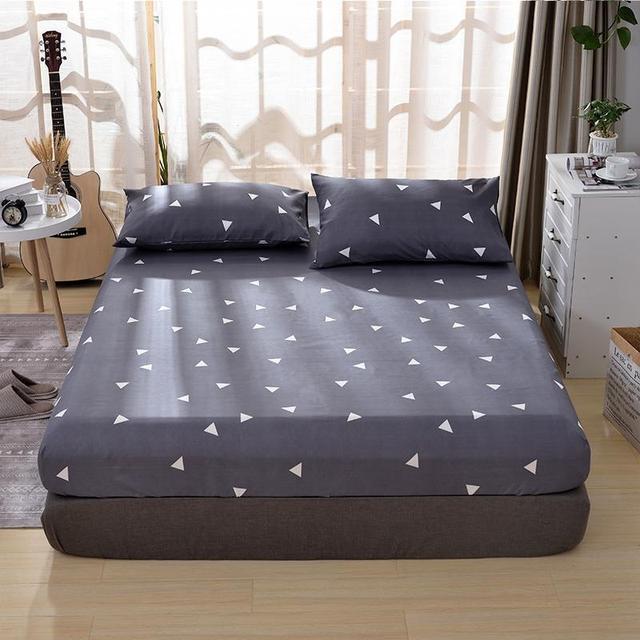 Elastic Rubber Band Bed Sheet Mattress Cover 3