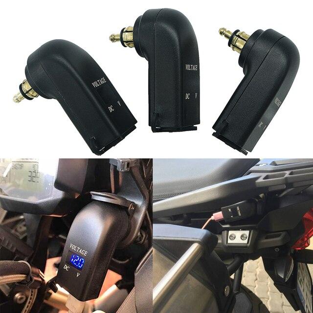 אופנוע כפול USB מטען חשמל מתאם מצית שקע עבור BMW R1250GS הרפתקאות LC F850GS F800GS R1200GS R1200RT