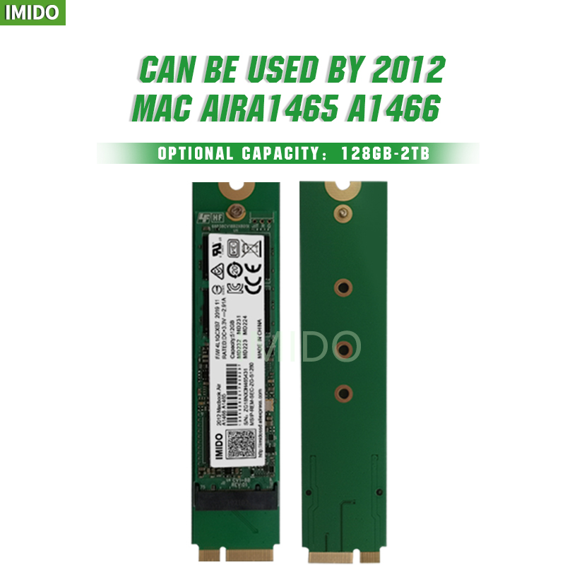 A1465 A1466 USB3.0 adapter card for 64G 128G 256G 512G SSD of 2012 MacBook Air