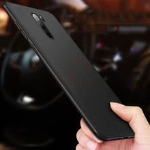 Hacrin Phone Case for Xiaomi Redmi Note 8 Anti-Fingerprint Bumper Cover Slim Frosted Matte Pro