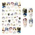 1 шт. 12,2*7,5 см 3D наклейки для ногтей Девы Марии, наклейки для ногтей в стиле ретро с изображением Мэрилин Монро Наклейки для маникюра украшени...