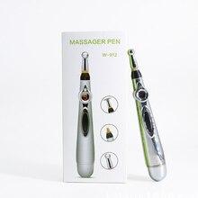 Новейшая электронная ручка для иглоукалывания, меридианская лазерная терапия, Массажная ручка для здоровья, энергетическая ручка для облегчения боли, домашнее Медицинское Оборудование