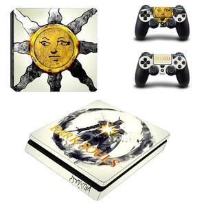 Image 5 - ダーク魂PS4スリムスキンステッカーデカールビニールデュアルプレイステーション4コンソール & コントローラPS4スリムスキンステッカービニール