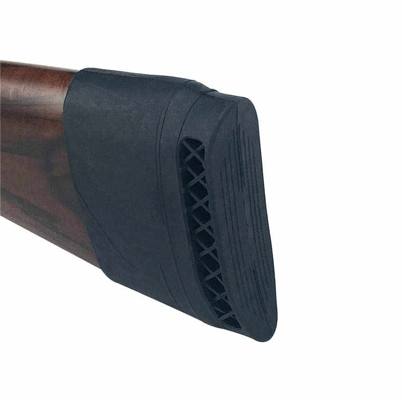 Hunting Rifle Recoil Pad Tactical Rubber Slip-On Buttstock Shooting Extension Gun Butt Protector Rubber Gun Butt Accessories