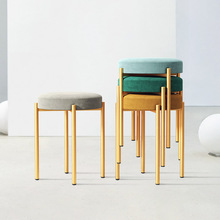 Dining Chairs Golden Northern Europe Small Stool 8Colors Living Room Chair Dining Chaise стулья для столовой 의자