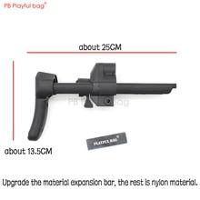 Игривая сумка CS toy MP5K/MP5 нейлоновая телескопическая приклад с обновленным материалом телескопическая штанга водяной пулевидный Пистолет Аксессуары KD63