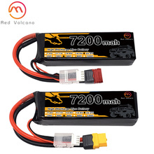 6S 22.2 7200mAh 35C 60C LiPo Battery for RC Drones Airplanes Helicopters Cars Boats Robots Lipo Battery With T/XT60/TRX/XT90/EC5