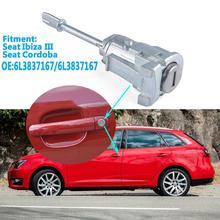 1pc door 1Pc Door Lock Cylinder Door Lock Core for Seat Cordoba Ibiza III OE 6L3837167/6L3837168