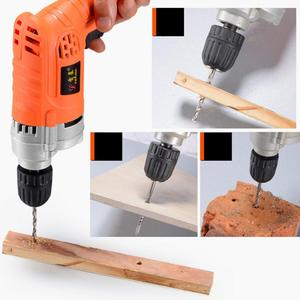 Image 4 - 220V 710W High Power Handheld Electric Drill with Rotation Adjustment Switch and 10mm Drill Chuck for Handling Screws