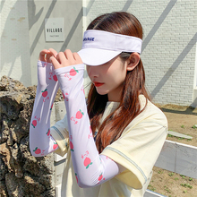 Gloves Sleeve-Wrap Warmers Sun-Protection Women Ice-Silk Anti-Uv Out High-Quality Lady