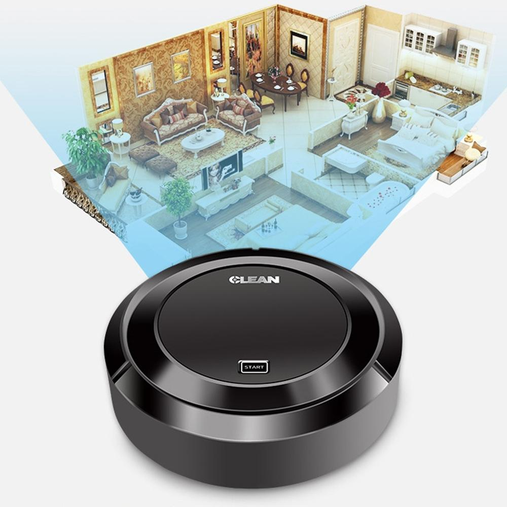 Sweeper Clean Automatic Robot Vacuum Cleaner Robotic Auto Home Cleaning Guard Anti-collision Long Lasting Sweeping Robot