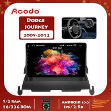 ACODO 2G RAM 16G ROM Android 10.0 autoradio lecteur multimédia pour DODGE voyage 2009-2012 Navigation GPS 2 Din