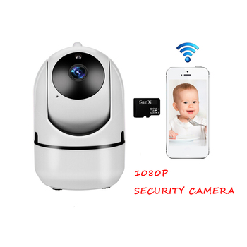 Mini Baby Monitor IP Camera Auto Tracking HD 1080p Indoor Home Wireless Wifi Camera Security Surveillance CCTV Camera Ip Cam