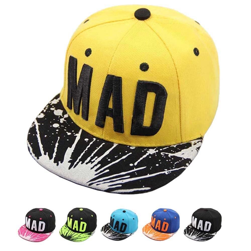 2021 модная шапка Снэпбэк Кепка для детей мальчиков девочек бейсболки с буквами плоская кепка в стиле хип-хоп детская шляпа от солнца детские ...