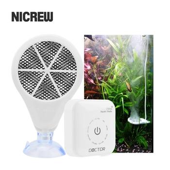 Nicrew-Esterilizador electrónico para acuario, limpiador y eliminador de algas para pecera, Chihiros...