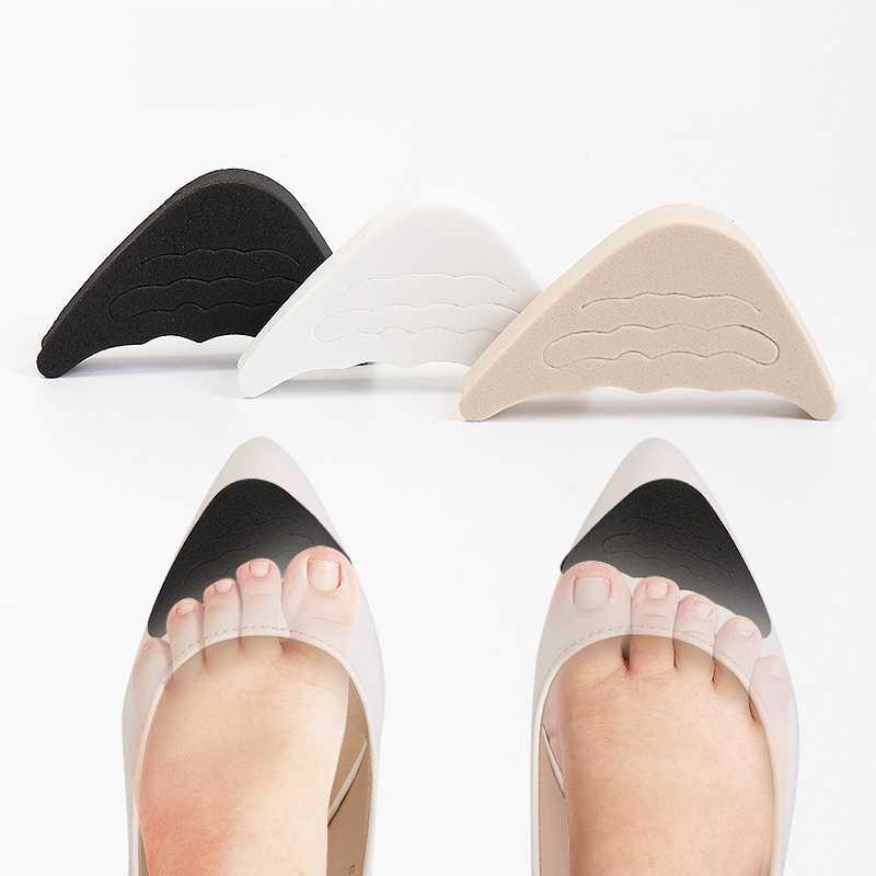 Women High Heel Shoes Toe Filler Too Big Shoes Insert Toe Plug Pain Relief 2pcs