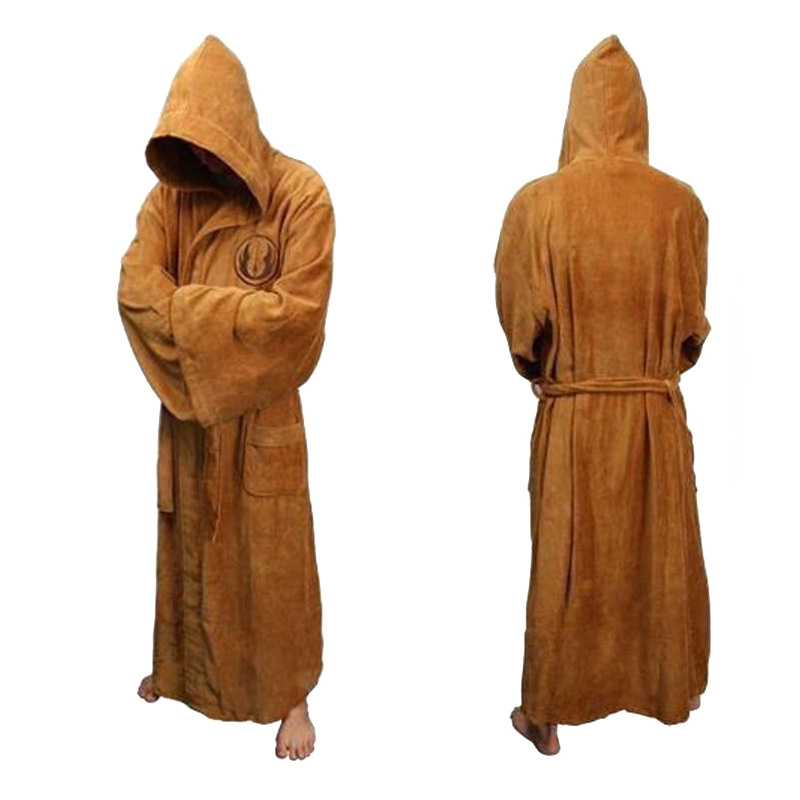 Winter Bathrobe Men Soft As Silk Extra Long Hooded Bath Robe Male Dressing Gown For Mens Flannel Robes Bath Robe