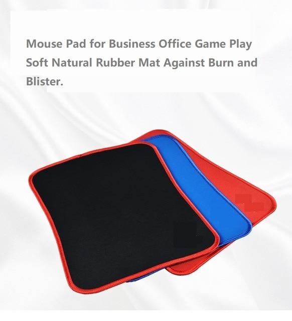 Tapis de souris anti-dérapant ordinateur portable tapis de souris résistant à lusure tapis de souris vitesse bord doux cousu clavier tapis de bureau en caoutchouc naturel