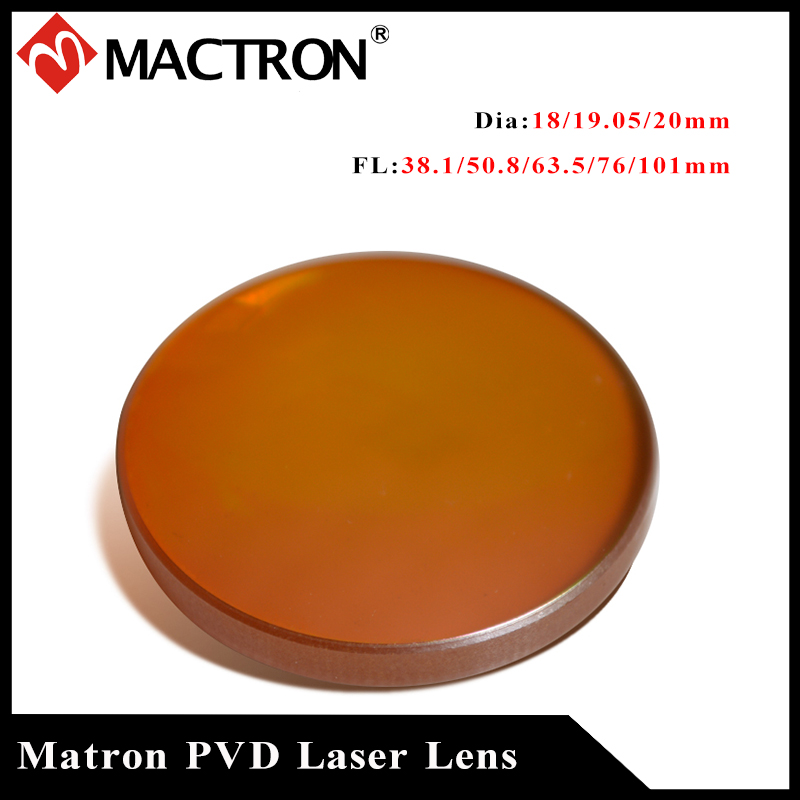 (Promoção) o mais baixo preço de alta qualidade mactron znse pvd lente laser 20mm diâmetro lente foco para co2 gravação a laser máquina cuting