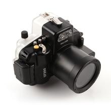 40M wodoodporna nurkowanie Aparat podwodny obudowa Case dla Nikon D7200 kamera 18 55mm