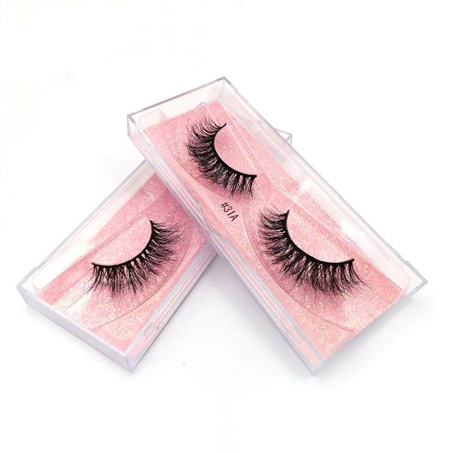 New Fluffy 3D Eyelashes Mink Lashes Makeup Full Strip Lashes Cruelty Free Lashes Luxury Mink Eyelashes maquiagem cilio faux cils 1