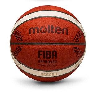 Image 2 - Atacado ou varejo nova marca barato gl7 bola de basquete plutônio materia oficial size7/5 basquete livre com saco líquido + agulha