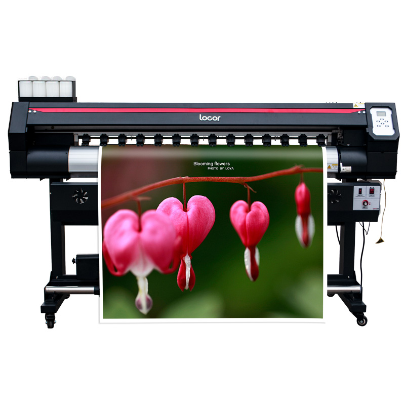 Plotter Eco Solvent Roll To Roll Digital Printing Machine 5 Feet Wide Format Dx7 Inkjet Pvc Film Printer