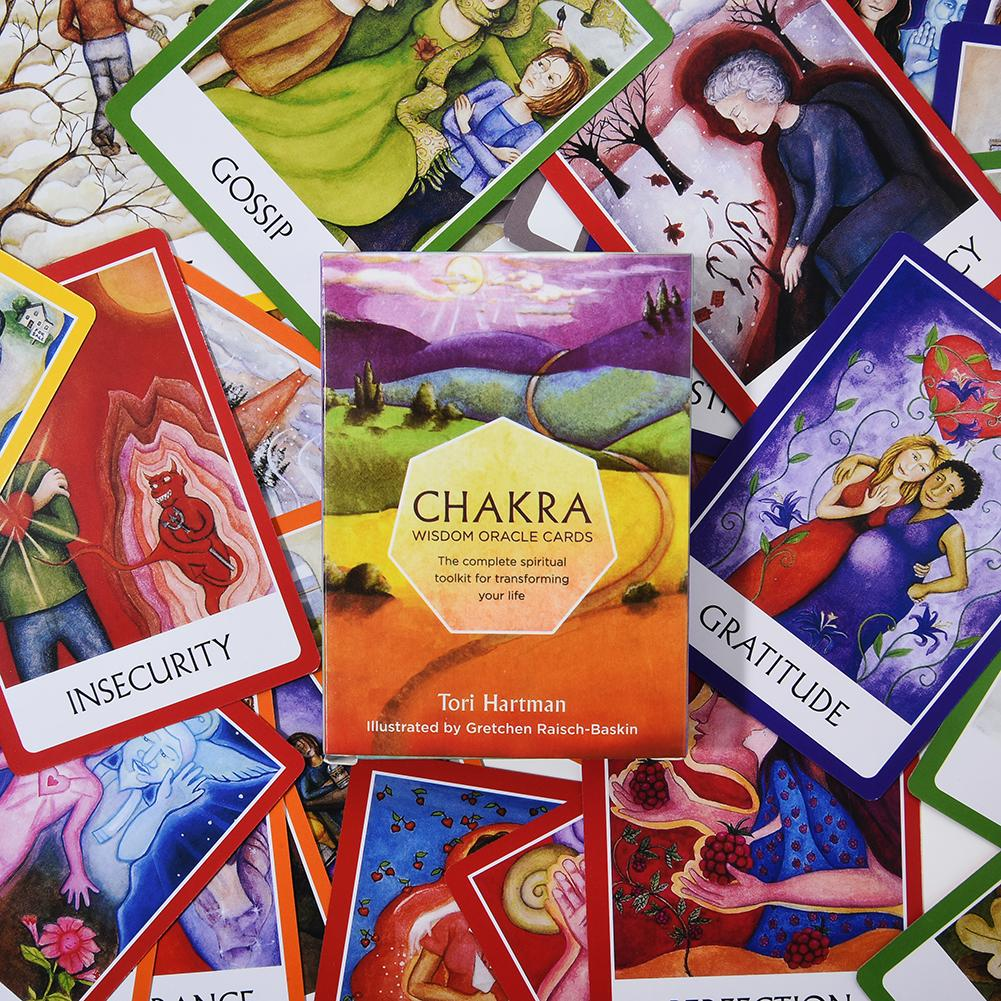 Chakra Tarot Card Board Game Card Party Table Games Playing Cards Family Entertainment