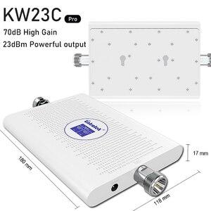 Image 4 - Lintratek 2g 3g 4g усилитель сигнала, двухдиапазонный сотовый ретранслятор GSM WCDMA 900 2100 1800 DCS LTE 4G усилитель сигнала