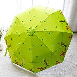 Image 3 - Lotosblume מותג מכירה לוהטת חדש באופן מלא אוטומטית אנטי Uv לנשים מתנת אופנה Windproof שמש גשם גבירותיי מטריות